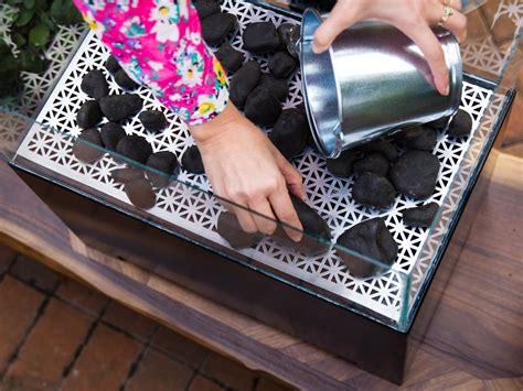 diy pit mesh how to make a diy tabletop pit hgtv