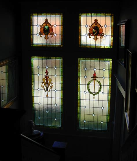 residential stained glass windows house living part 2