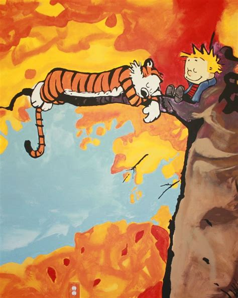 calvin and hobbes wall mural best 20 calvin and hobbes wallpaper ideas on