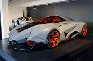 On Lamborghini Lamborghini Egoista Goes On Permanent Display At