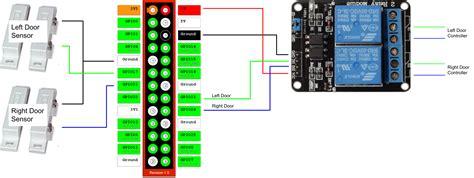garage door opener switch wiring wiring diagram with