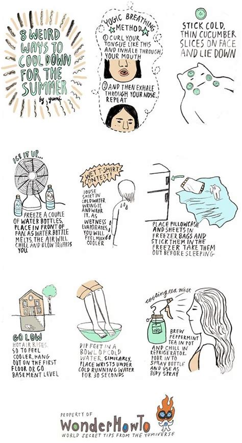 Cool Ways To In Summer by 8 Ways To Cool For Summer 171 The Secret