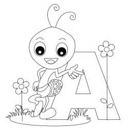 Free Printable Alphabet Coloring Pages For Kids Best A Coloring Page