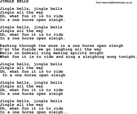 testo jingle bell jingle bells by merle haggard lyrics