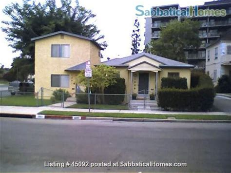 sabbaticalhomes home for rent los angeles california
