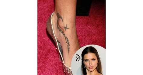 adriana lima tattoo lima sam smith grande and more