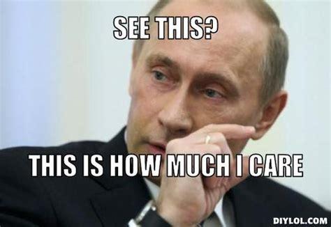 Meme Gener - russia updates personal data laws to ban putin memes