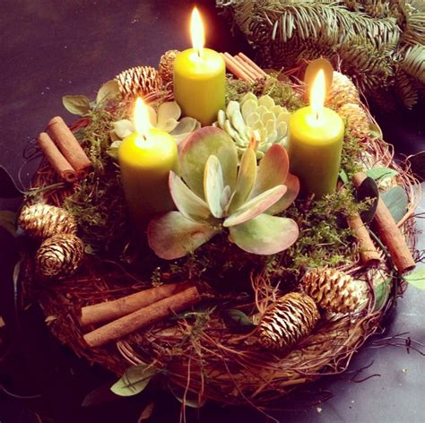 candle wreath centerpieces diy candle centerpieces 40 ideas for your table