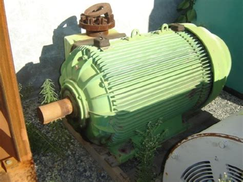 Used Pope Electric Induction Motor 0 Mining Equipment For