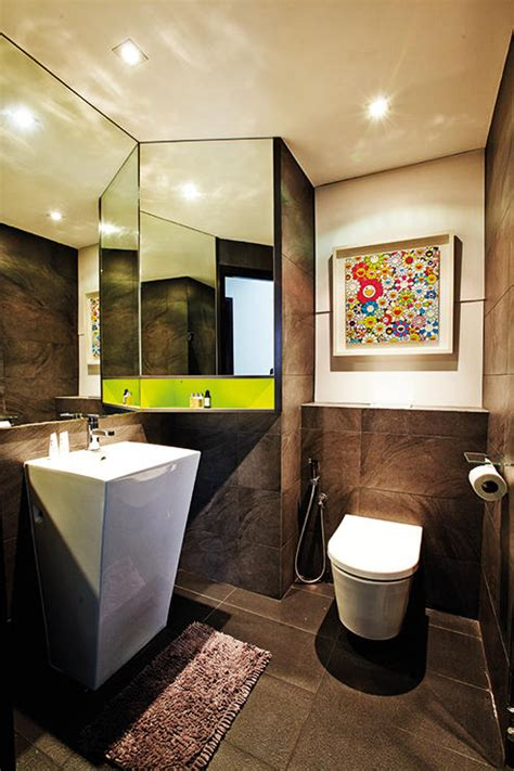styling ideas  small bathrooms home decor singapore