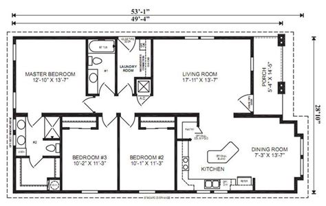 3 bedroom floor plan with dimensions the oxford 3 bedrooms 2 baths square feet 1 461