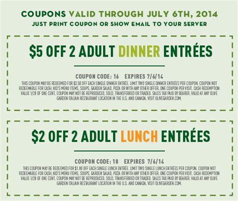 online olive garden coupons