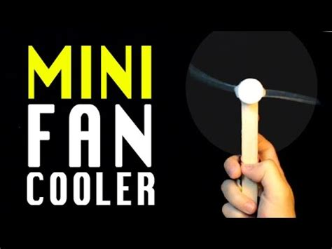 how to make electric fan ho to make a mini fan air cooler homemade electric fan