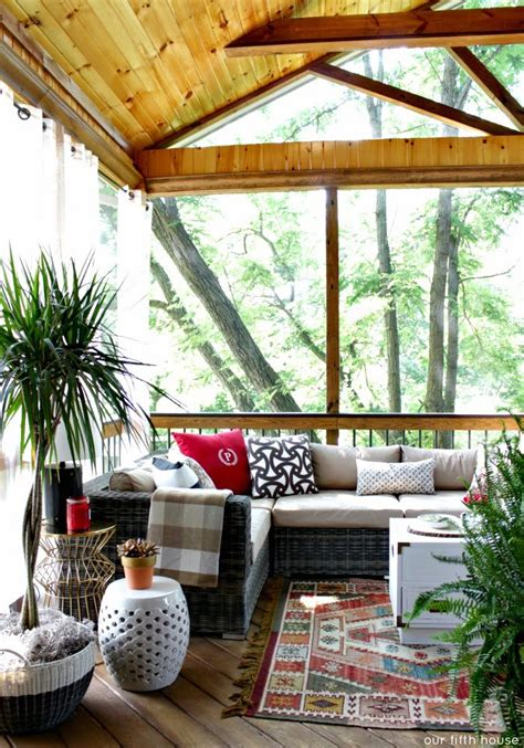 our fifth house screened porch reminiscing before and inspiration our fifth house