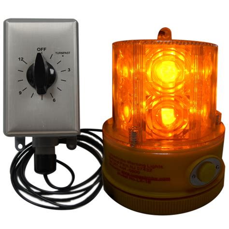 led beacon with timer