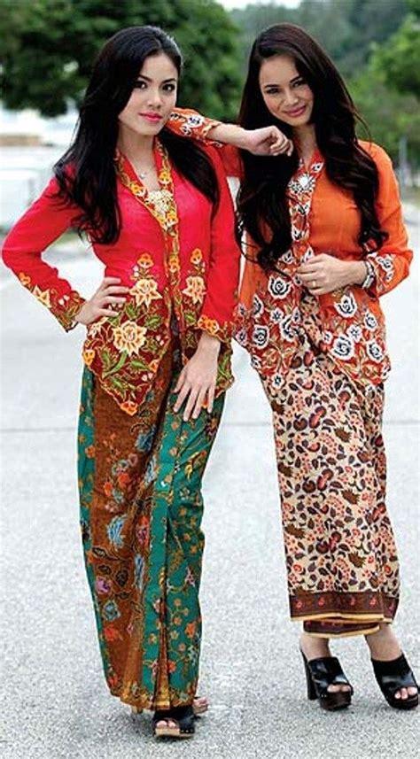 design batik ramli kebaya nyonya malay traditional costume pinterest