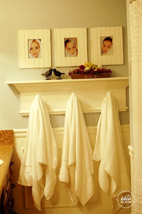 diy bathroom rack creating a meaningful home the idea room jenna burger