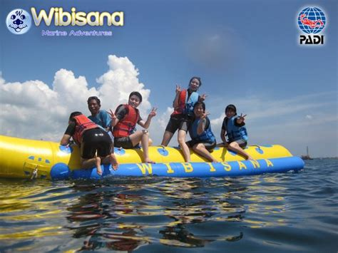 banana boat ride near me banana boat ride picture of wibisana marine adventures