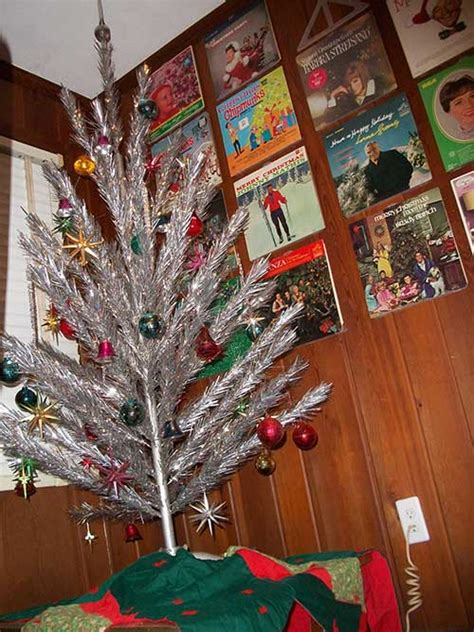 christmas tree in 1970s 9 places to find aluminum trees vintage and reproduction retro renovation
