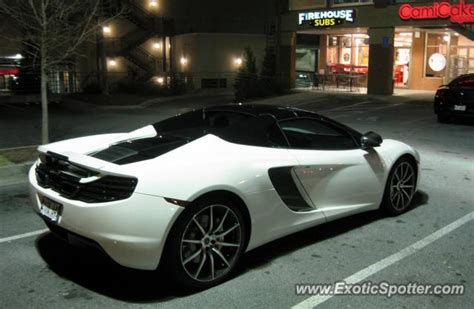 mclaren mp4 12c spotted in atlanta on 12 30 2012