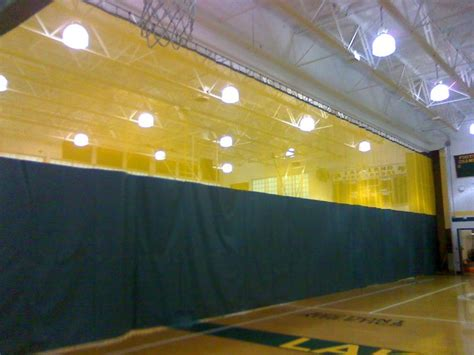 gym divider curtains cost nci gym pads divider curtains