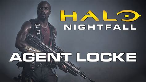 mike colter agent locke halo nightfall first look at mike colter as agent locke