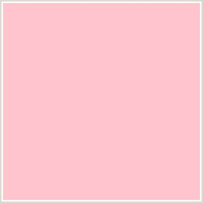 pastel pink rgb ffc3ce hex color on colorcombos com with rgb values of 255 195 206 and cmyk values 0 0 235