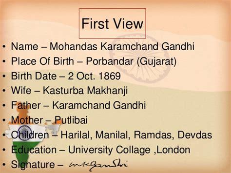 gandhi born date and death date mahatma gandhi