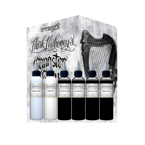 intenze tattoo ink sets intenze ink mahoney gangster set 1oz