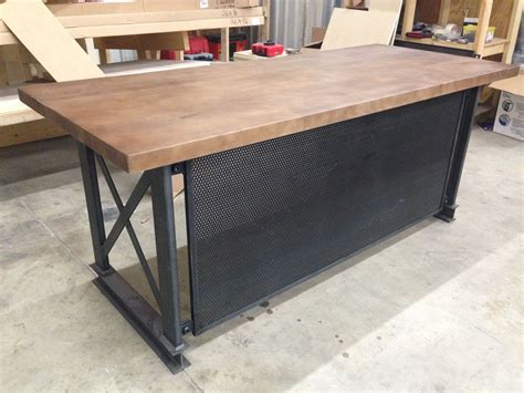 at the office desk buy a handmade the industrial carruca office desk made to