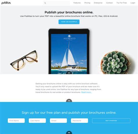 design your leaflet online brochures design software free download