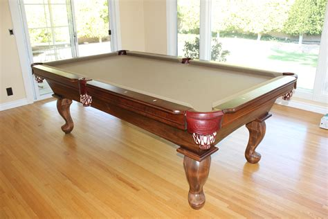 who makes the best pool tables can anyone tell me the model of this table billiards
