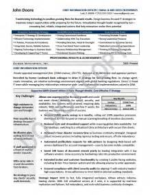 Technology Officer Sle Resume by Cio Resume Digg3