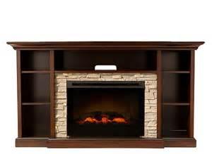 electric fireplace tv consoles merrick 65 quot tv console w 25 quot electric fireplace