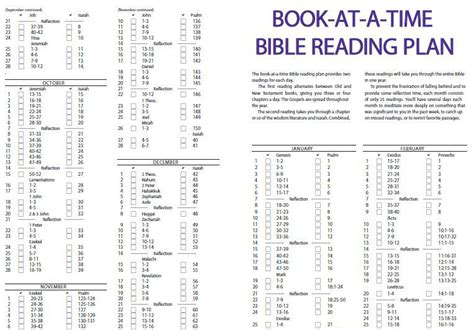 read the plan bible reading dan werthman