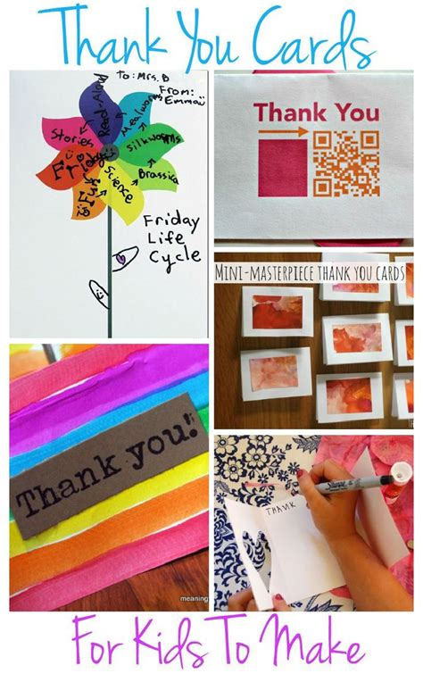 thank you cards for children to make 17 best images about classroom thank you cards and ideas