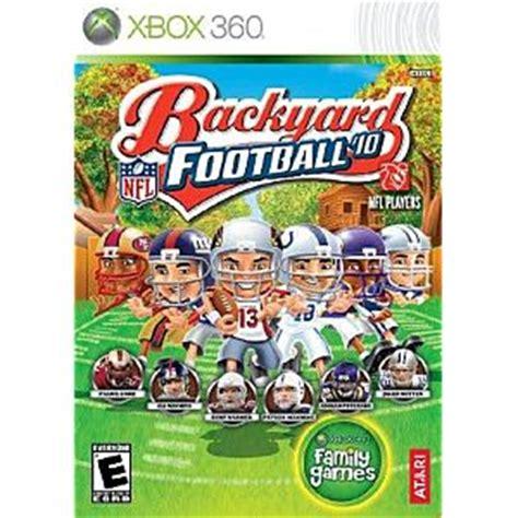 backyard football ps3 backyard football 10 xbox 360 game