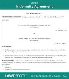 hold harmless agreement form free indemnity agreement