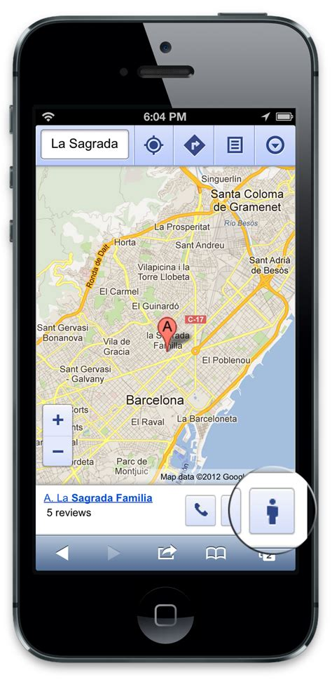 mobile view lat view comes to maps on your