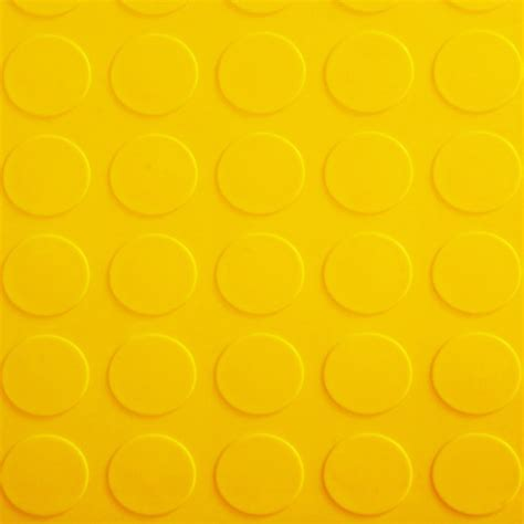 Garage Floor Tile Coin yellow coin.