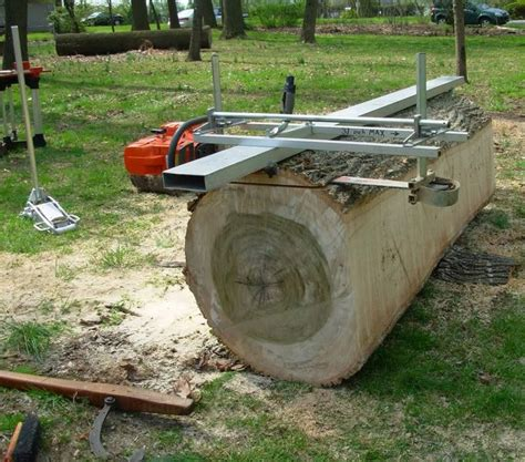 chainsaw mills log beds the http familywoodworking org forums showthread php 9697