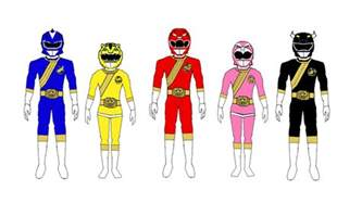 power rangers colors power rangers mmpr color scheme by hbgoo on