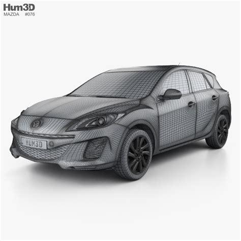mazda 3 hatchback 2011 review mazda 3 bl2 us spec hatchback 2011 3d model hum3d