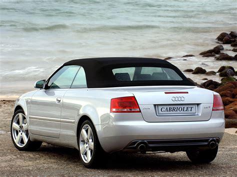 audi convertible 2006 audi a4 cabriolet specs 2005 2006 2007 2008