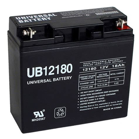 Wheel Chair Batteries by 12 Volt 18 Ah Ub12180 Agm Wheelchair Mobility Scooter