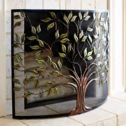 pier 1 imports cercis fireplace screen eclectic