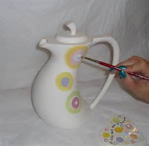 Painting Pottery by Pottery Painting Artcentric