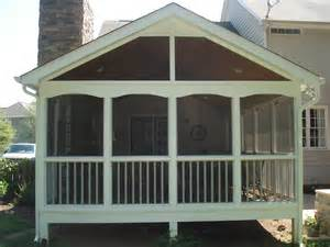 screened porches raleigh nc custom built screen porches in cary amp raleigh