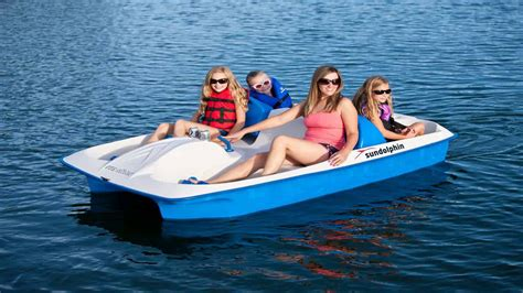 pedal boat sun dolphin sun dolphin sun slider 5 seat pedal boat with canopy teal