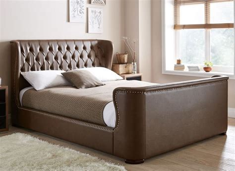 brown leather bed bedroom ideas 25 best ideas about leather bed on pinterest leather